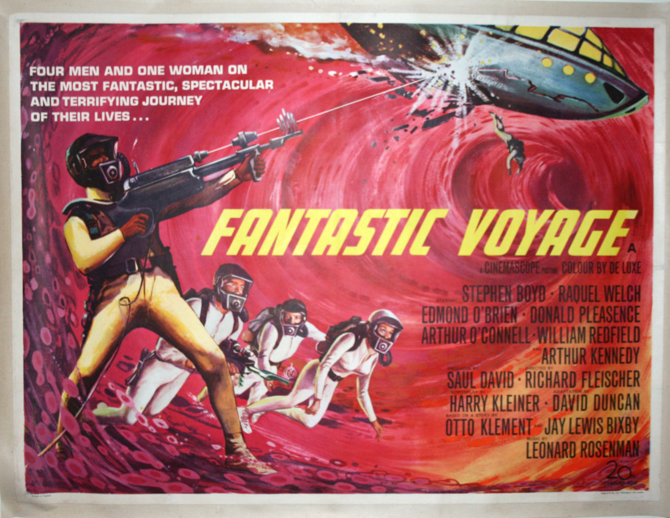 Fantastic Voyage Cinema Poster