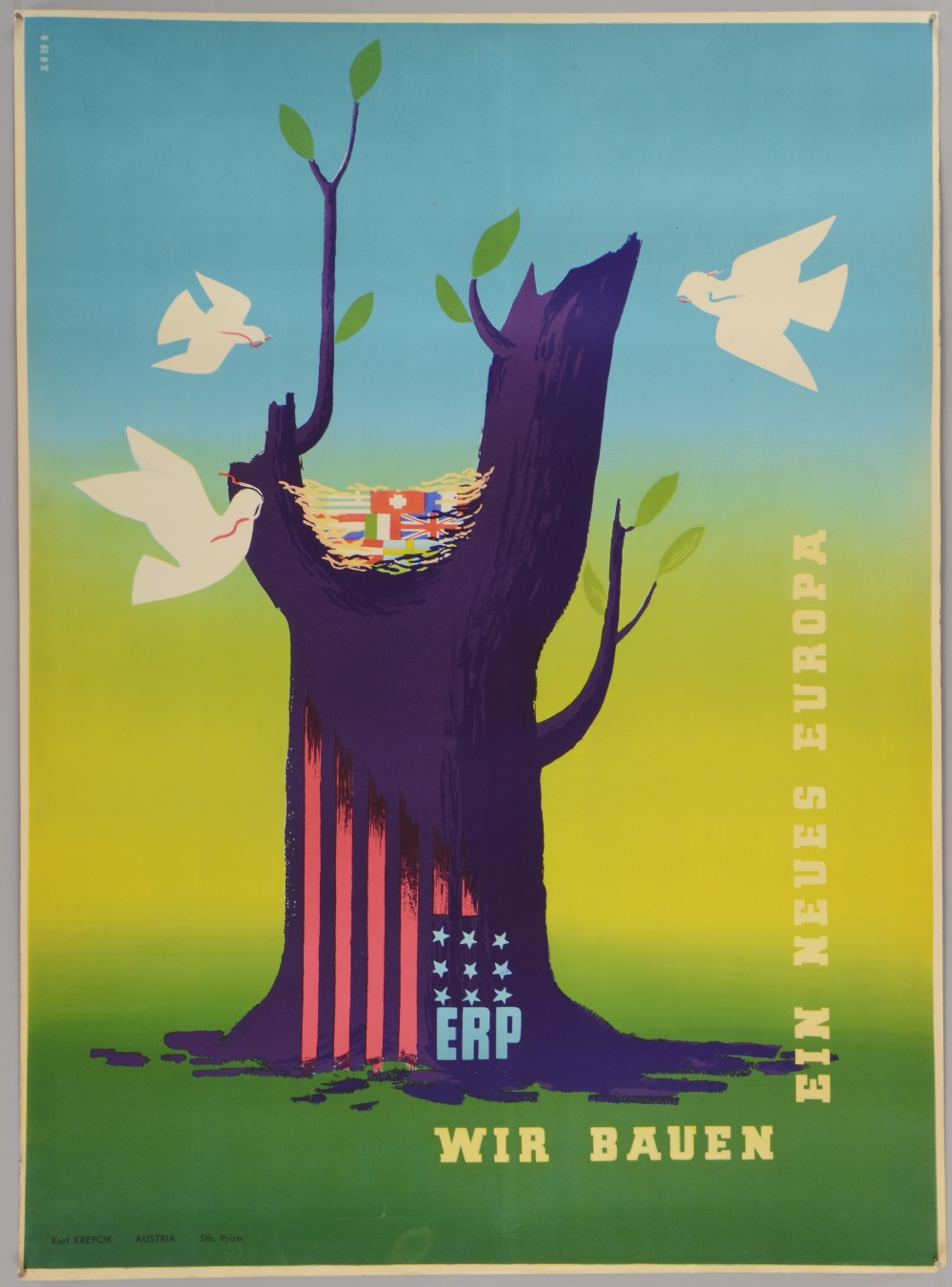 Political posters a rare original vintage marshall plan - The marshall plan was designed to ...